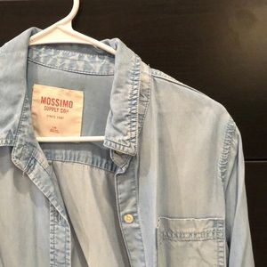 Target (Mossimo Supply Co.) Denim Button-Up
